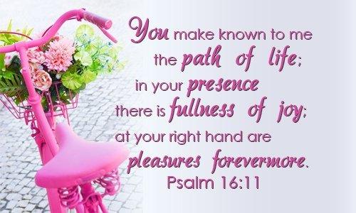 Psalm 16 verse